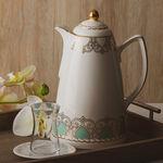 Dallety Porcelain Vacuum Flask 900 Ml Fairoz Green Color image number 2