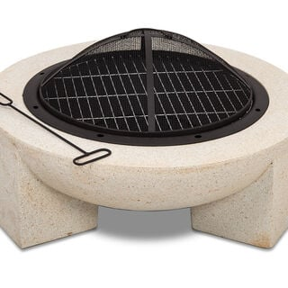 Mgo Firepit Round