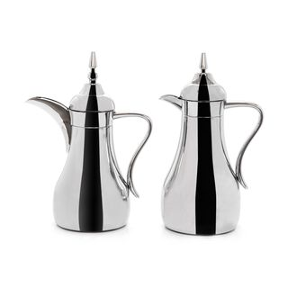 Dallety 2 Pieces Steel Vacuum Flask Set