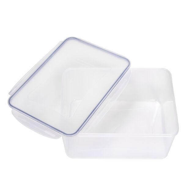 Alberto Plastic Food Saver Rect Shape V:7.8L Blue Lid image number 2