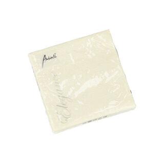 Elegance Serving Napkins Paper Square Cream