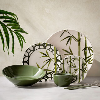 Rio Bambu Verde 20 Pcs Dinner Set