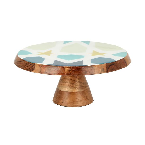 Arabesque Cake Stand With Cake Lifter image number 1