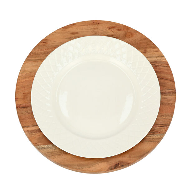 Arabesque Round Charger Plate image number 2
