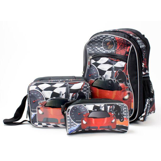 """Backpack + Lunch Bag + Pencil Bag 16"""" image number 0"""