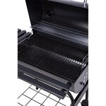 Bbq Trolly Grill Charcoal Black image number 2