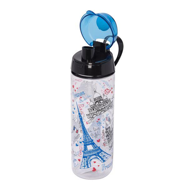 Herevin Plastic Sports Bottle V:0.75L Paris Design image number 1