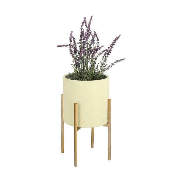 Planter With Stand White image number 1