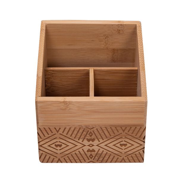 منظم خشب لادوات المطبخ image number 1