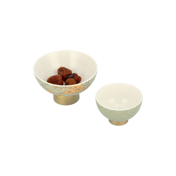 Date Bowl 2Pc Porcelain Harmony image number 2