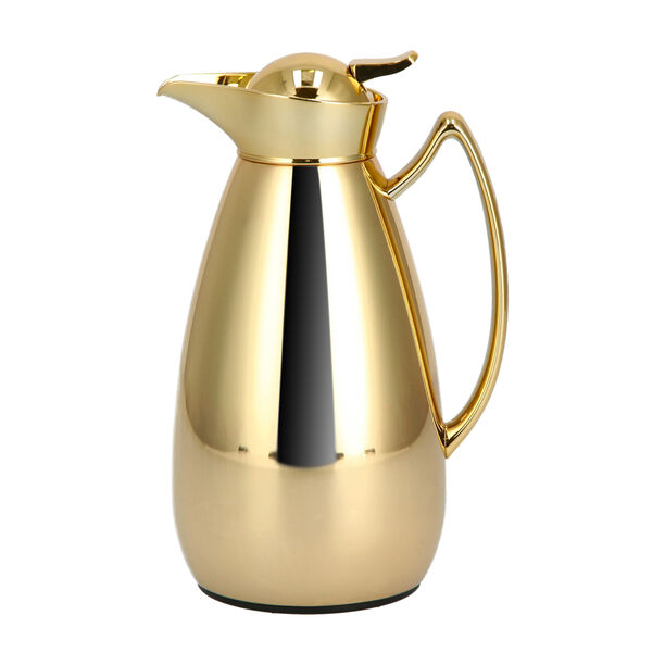 Steel Vacuum Flask 1Pc Mic Gold image number 0