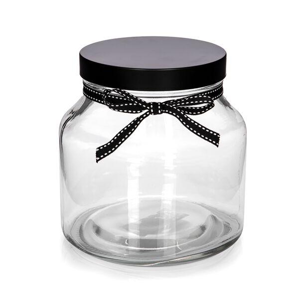 برطمان تخزين زجاجي بغطاء معدني سعة 1650 مل من البرتو image number 1
