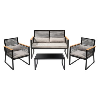 Patio Set Of 4 Pieces