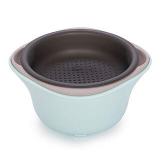 Alberto Set Of 3 Mixing Bowls W/ Non-Skid Bottom