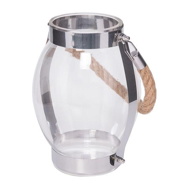 فانوس زجاج شفاف image number 0