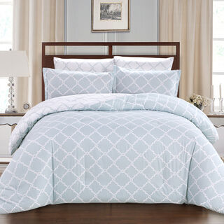 Comforter King Size 6 Pcs Set Oriental