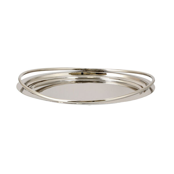 Steel Tray Round Fence Silver image number 1