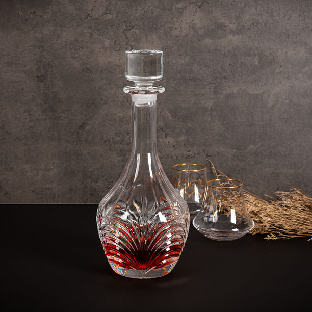 Crystal Decanter Aurea Made In Italy image number 3