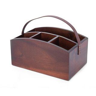 منظم خشب لادوات المطبخ من البرتو