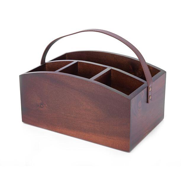 منظم خشب لادوات المطبخ من البرتو image number 0