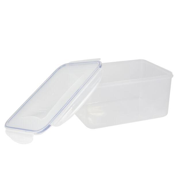 حافظة طعام بلاستيك مستطيل سعة 5.2 لتر من البرتو image number 2