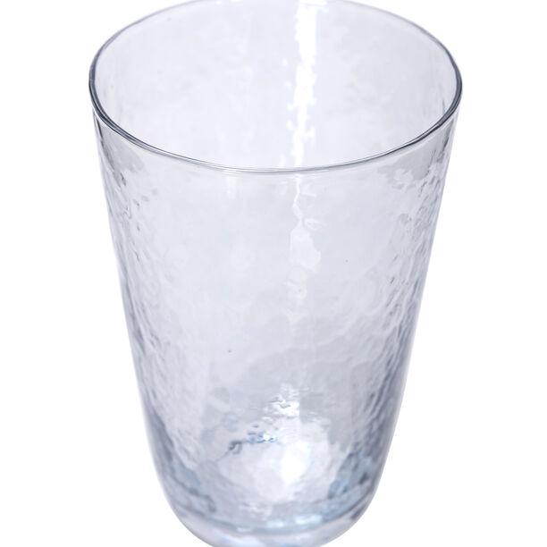 Glass Stem Goblets Cold Spot And Blue Luster image number 1