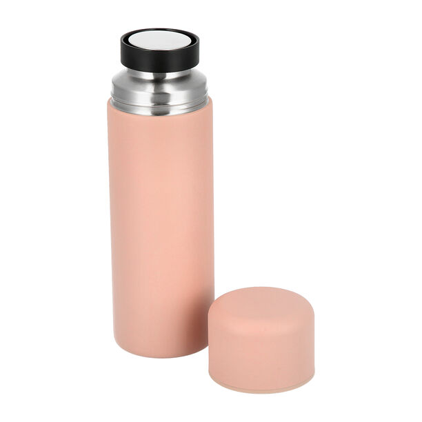 Thermo Bottle 500Ml Stainless Pink image number 1