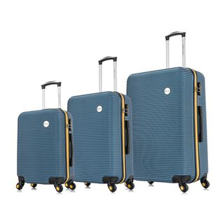 "Travel Vision Moony Set Of 3 20/24/28"" Blue"