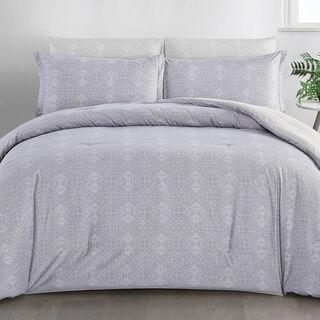 6 Pcs Comforter King Size Set Ivy