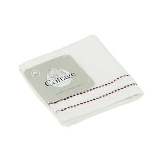 Cottage Line Face Towel 30X30 Purple 470 Gsm