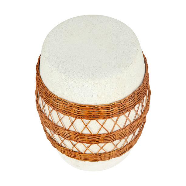 Ceramic Stool With Ratan Design image number 2