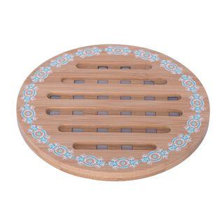 Bamboo Coaster Round 17.5Cm