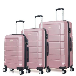 "Travel Vision Signature Set Of 3 20/26/30"" Rose Gold"