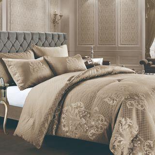 Cottage 6 Pieces Jacquard Comforter Set King Size