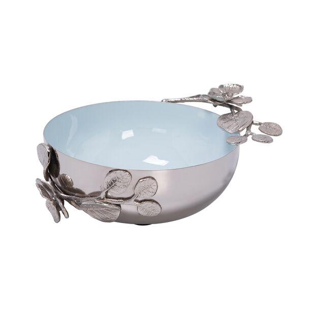 La Mesa Serving Bowl Blue Silver Design image number 0