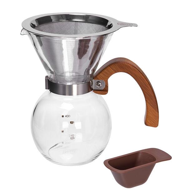 إبريق الشاي والقهوة بالضغط مع المنقط image number 1