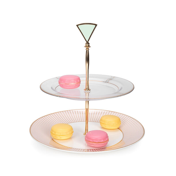 blush 2 Tiers Cake Stand image number 2