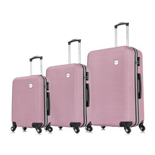 "Travel Vision Moony Set Of 3 20/24/28"" Rose Gold"
