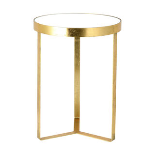 Side Table Round Metal Gold 41*41*56Cm