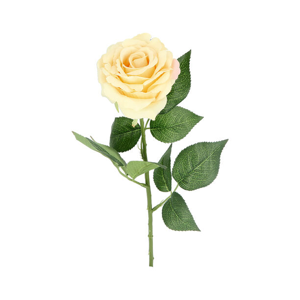Artificial Flower Rose Cream image number 1