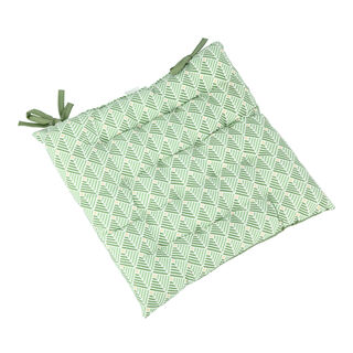 Alberto Kitchen Chair Pad L- 40 * W- 40 Cm - Green Design