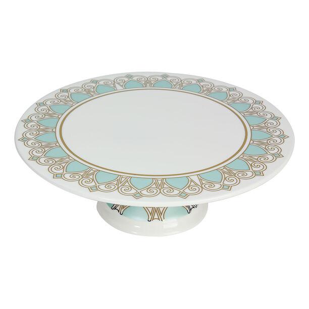 Porcelain Cake Stand Fairouz New Bon Gold image number 1