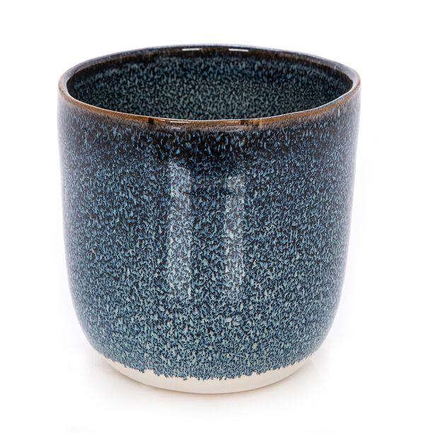 Ceramic Planter Dark Blue  image number 0