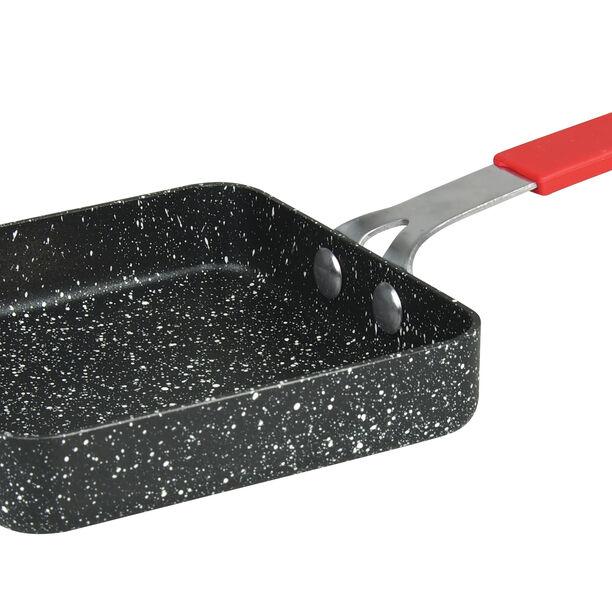 Mini Square Grill Pan Marble Black image number 2
