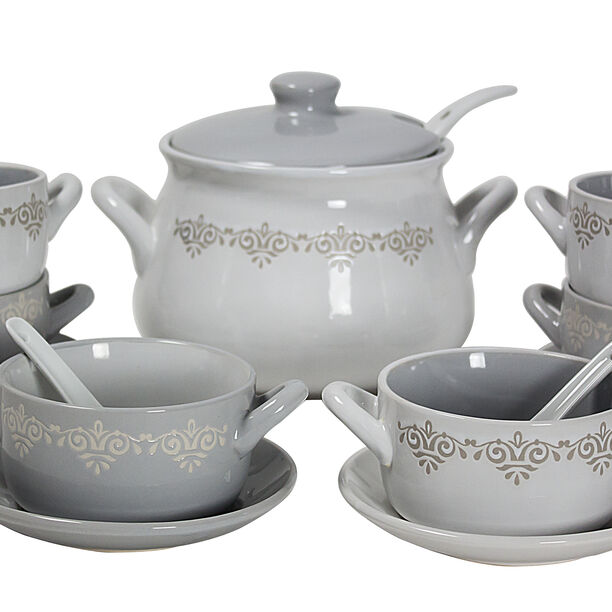 21 Pcs Soup Tureen image number 0