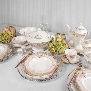 47 pieces Fine Bone Porcelain Dinner Set