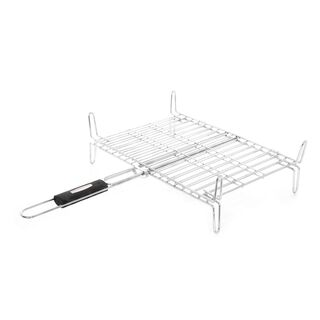 Bbq Grill With Black Handle