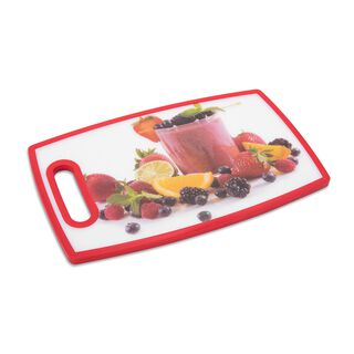 Alberto Plastic Printed Cutting Board Smoothy Design