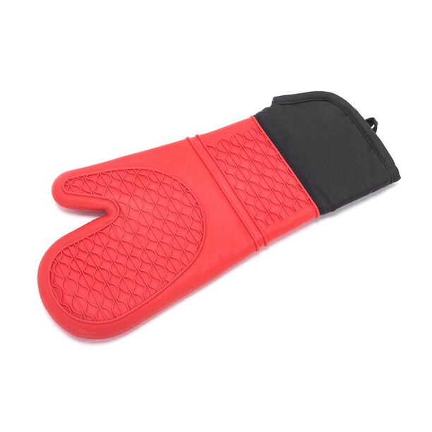 Betty Crocker Silicone Kitchen Glove Red image number 1