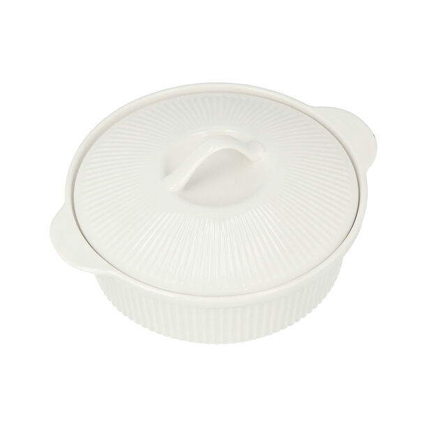 Round Casserole With Ceramic Lid image number 2